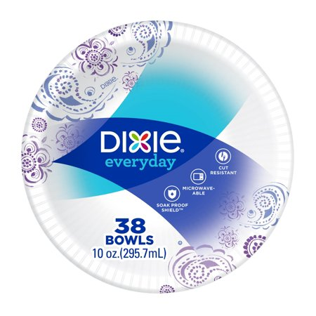 Dixie Everyday Paper Bowls 10 Oz 38 Count