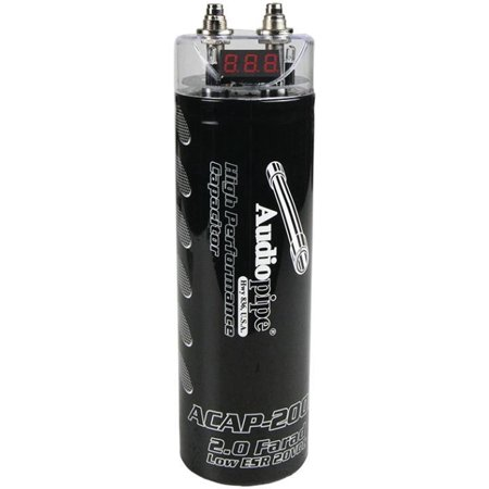Audiopipe ACAP-200 0 Power Capacitor