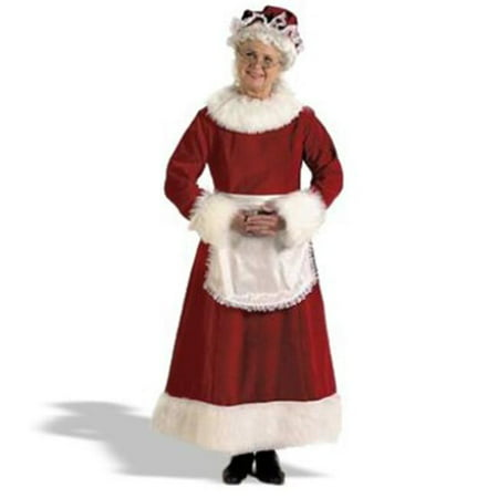 Halco 7056 Mrs. Claus Dress Costume - X-Large - Mrs Claus Dresses