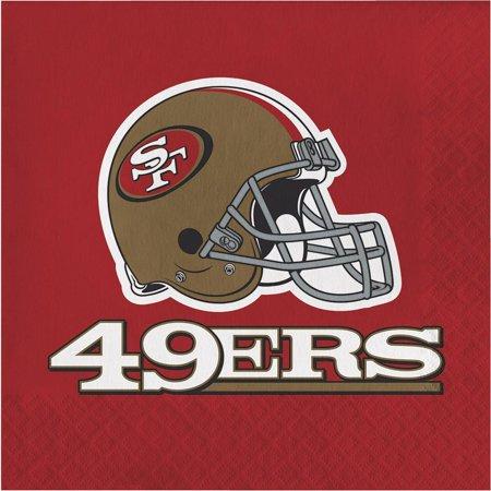 Creative Converting San Francisco 49Ers Napkins, 16 - 49ers Party