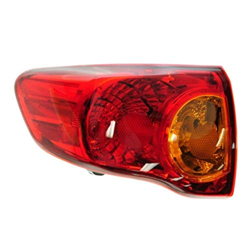 Tail Light - Cooling Direct Fit/For TO2800175 09-10 Toy Corolla-Usa Tail Lamp Assembly Lh [Outer] CAPA