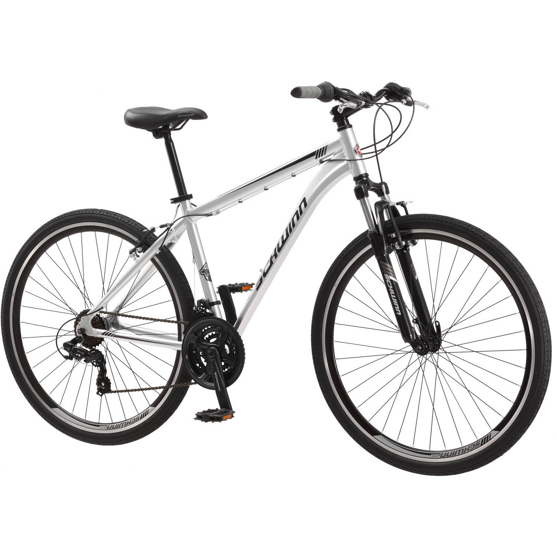 700c Schwinn Connection Mens Multi Use Bike Silver Walmart