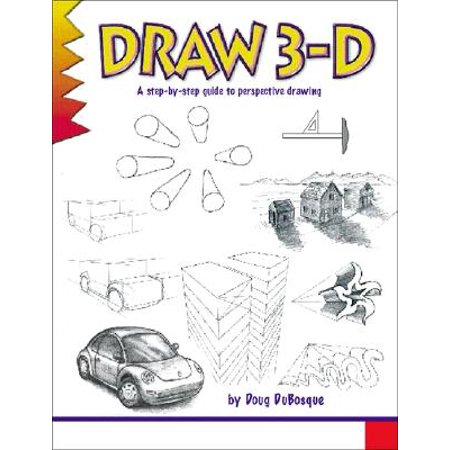 North Light Books Learn to Draw Series: Draw 3-D