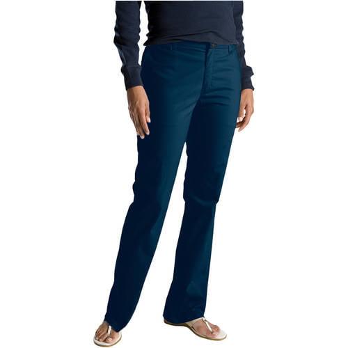 Genuine Dickies Women's Slim Bootcut Twill Pants