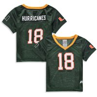 Toddler Russell Athletic Green Miami Hurricanes Replica Football Jersey