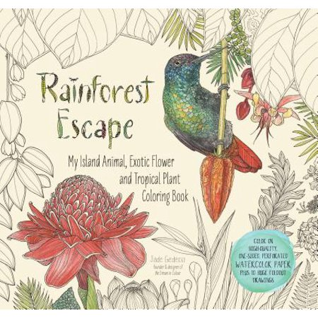RAINFOREST ESCAPE: MY IS? AND ANIMAL, EXOTIC FLOWE (Animal And Plant)