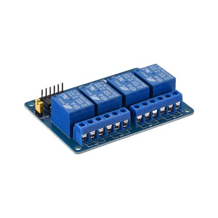- DC 5V Relay Module 4 Channel Low Lever Trigger for Arduino UNO Raspberry Pi