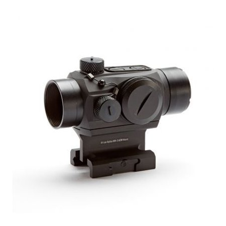 Hi-Lux MM-2 Red Dot Sight w/Absolute Co-Witness Mount, Matte