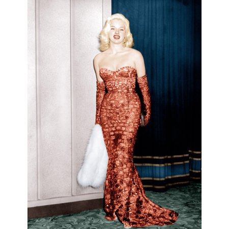 An Alligator Named Daisy Diana Dors Attending Movie Premiere At The Odeon Marble Arch 1955 Photo - Movie Premier