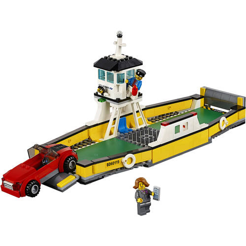 LEGO City Great Vehicles Ferry, 60119 Image 4 of 5
