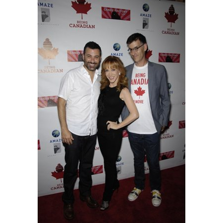 Jimmy Kimmel Kathy Griffin Robert Cohen At Arrivals For Being Canadian Premiere Majestic Crest Theatre In Westwood Los Angeles Ca September 17 2015 Photo By Michael GermanaEverett Collection Celebrity