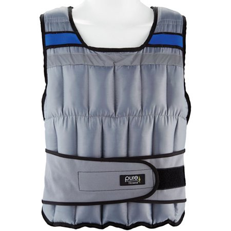 Pure Fitness 40lb Adjustable Weighted Vest