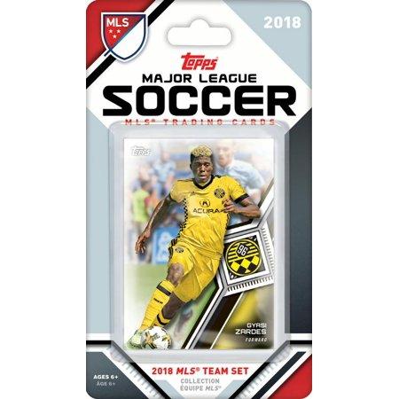 Columbus Crew 2018 Topps MLS Soccer Factory Sealed 9 Card Team Set with Ola Kamara and Gyasi Zardes (Factory Sealed Set)