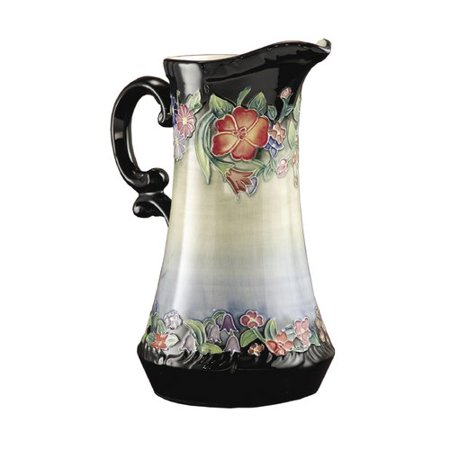 - Charlton Home Blanca Flower Garden Hand Painted Porcelain Pitcher