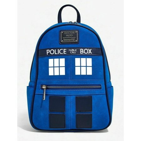 Doctor Who Tardis Loungefly Mini Backpack New w/ tags DRWBK0009 (Doctor Who Backpack)