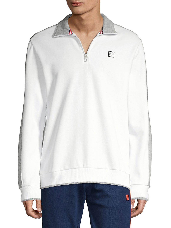 Logo Quarter-Zip Sweatshirt