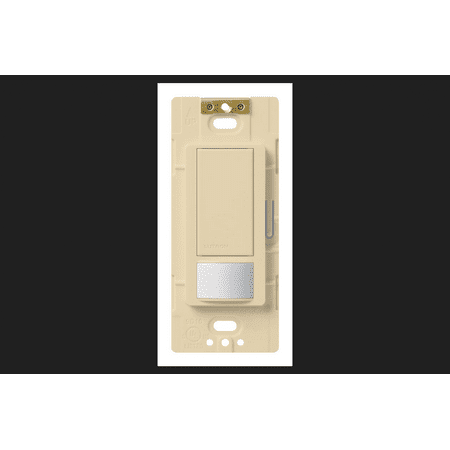 Lutron Maestro Occupancy 5 amps Single Pole Motion Sensor 3-Way Switch Ivory Decora Motion Sensor Occupancy Switch