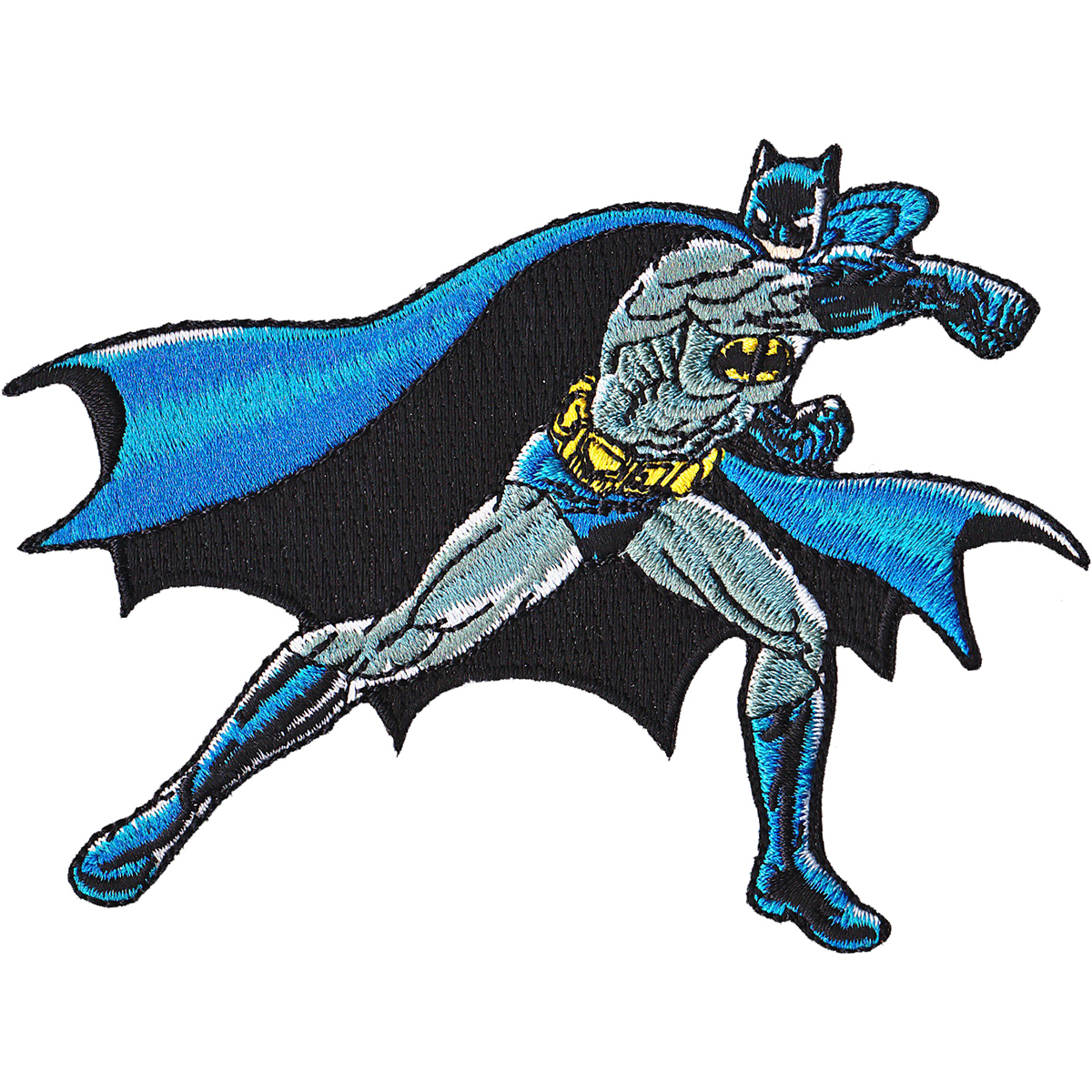 "DC Comics Patch-Batman Punching 3.5""X4"""