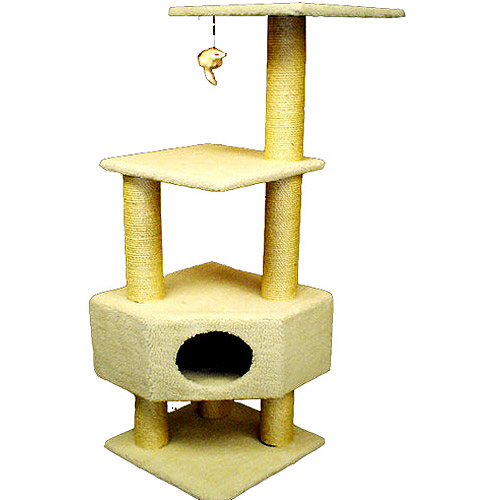 """52"""" Majestic Pet Cat Tree by Majestic Pet Products"""