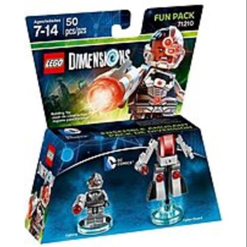 Warner Home Video-Games 883929463909 DC Cyborg Fun Pack - LEGO (Refurbished)