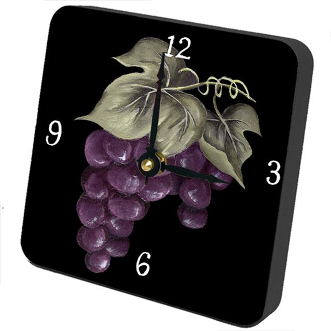 Lexington Studios 23017TT Grapes Tiny Times Clock by Lexington Studios