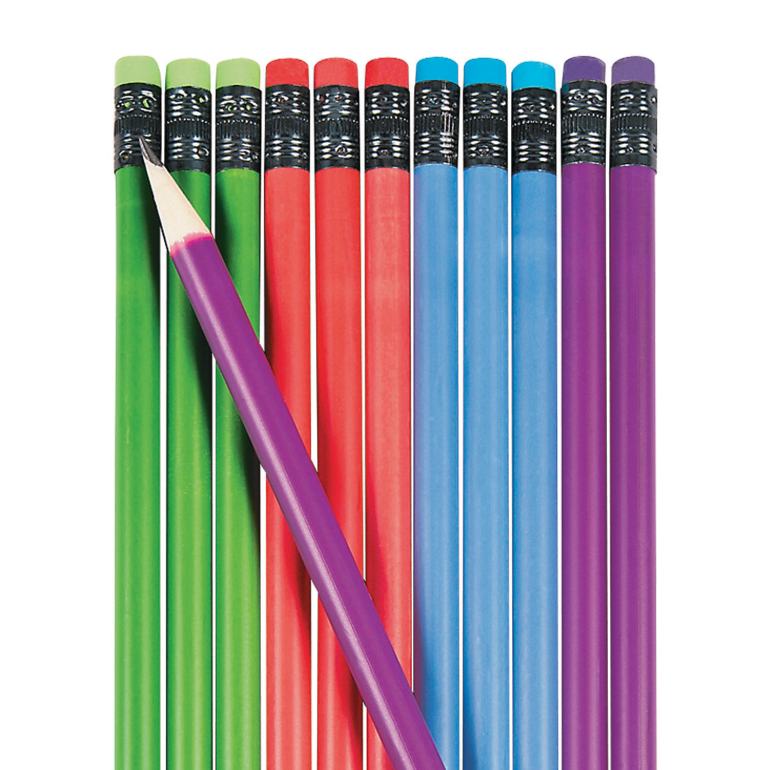 IN-13608399 Color Changing Mood Pencils 24 Piece(s) by Fun Express