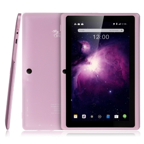 Tablet Express Dragon Touch Y88X PLUS 7'' Quad Core Android Tablet - Pink Y88X PLUS PK