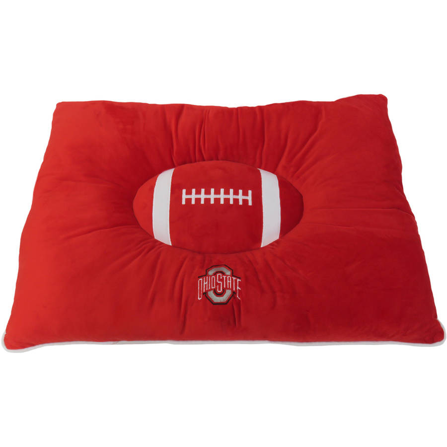 Pets First College Ohio State Buckeyes Pet Pillow Bed