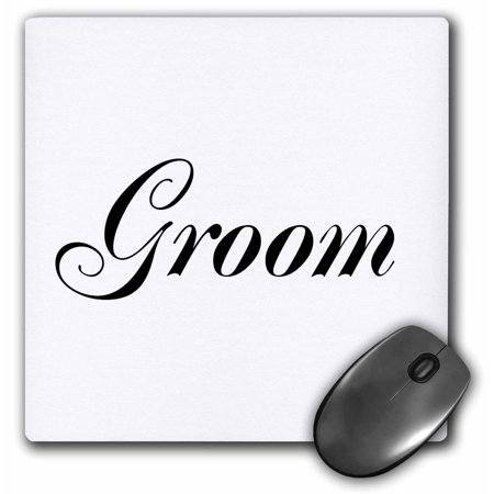 3dRose Groom - part of bride and groom set - couples gift...