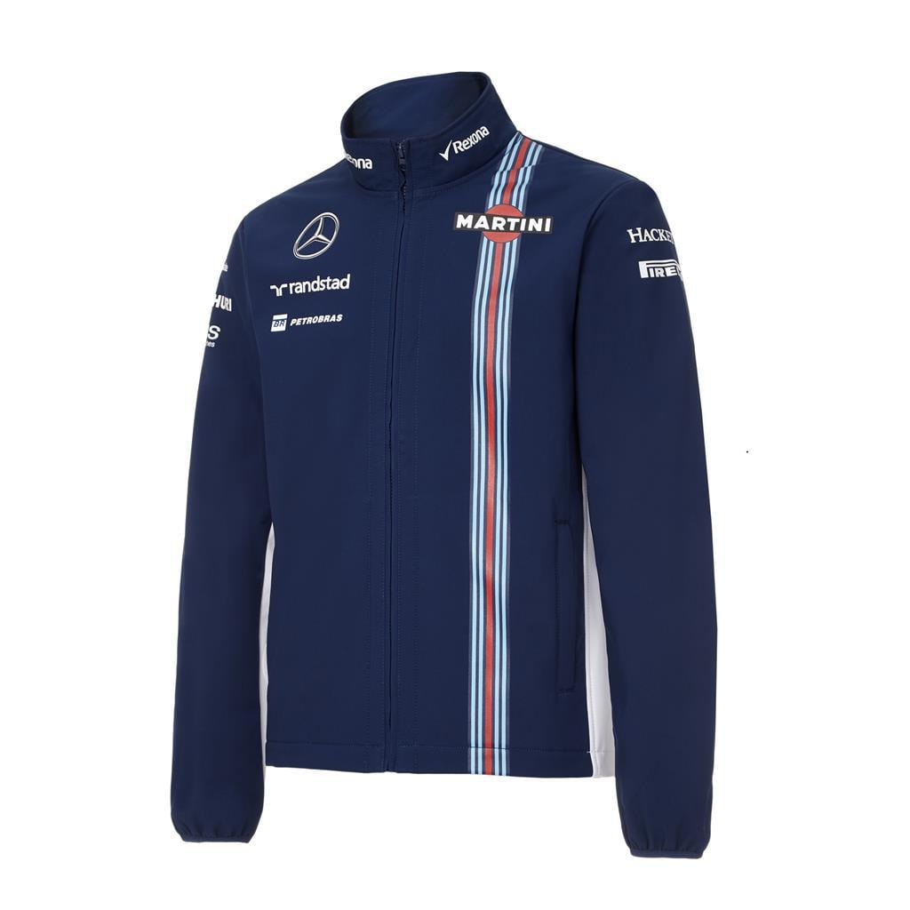 Williams Martini Racing Replica SoftShell Jacket