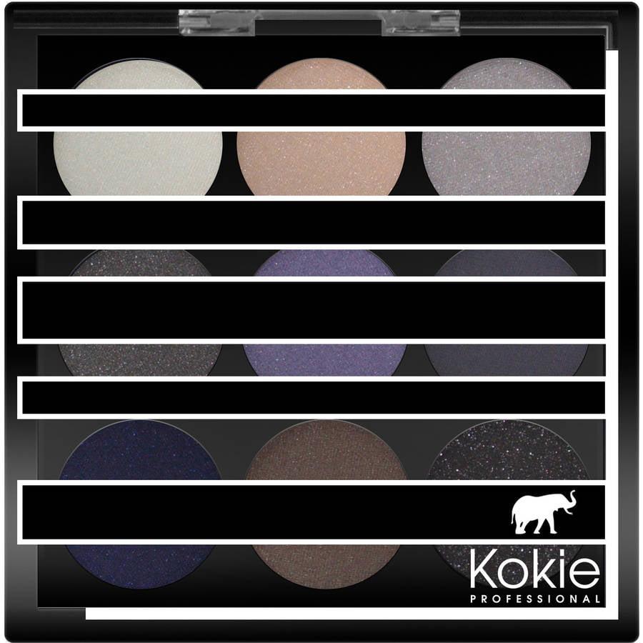 Kokie Professional Eyeshadow Palette, Smolder