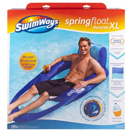 Torpedo Float - SwimWays Spring Float Recliner