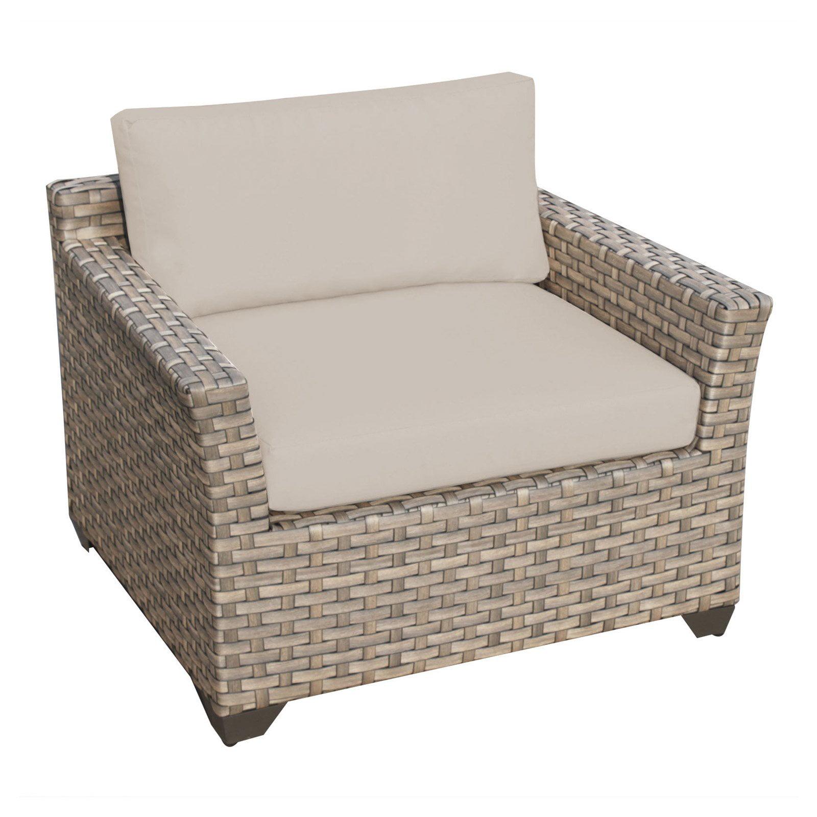 TK Classics Barbados Wicker Outdoor Club Chair