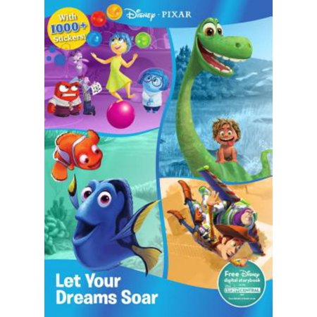 Disney Pixar Let Your Dreams Soar: With 1000+ Stickers!](Disney Magic Band Stickers)
