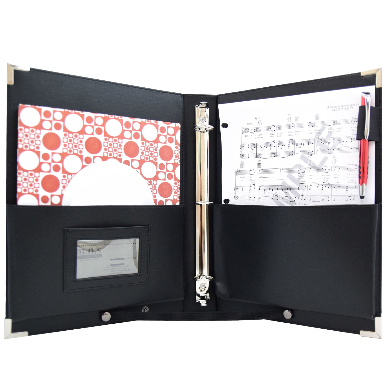 "MSP Sheet Music Folder Choral organizer with Handle & Detachable Strap 9.5 x 12"" (Medium)"