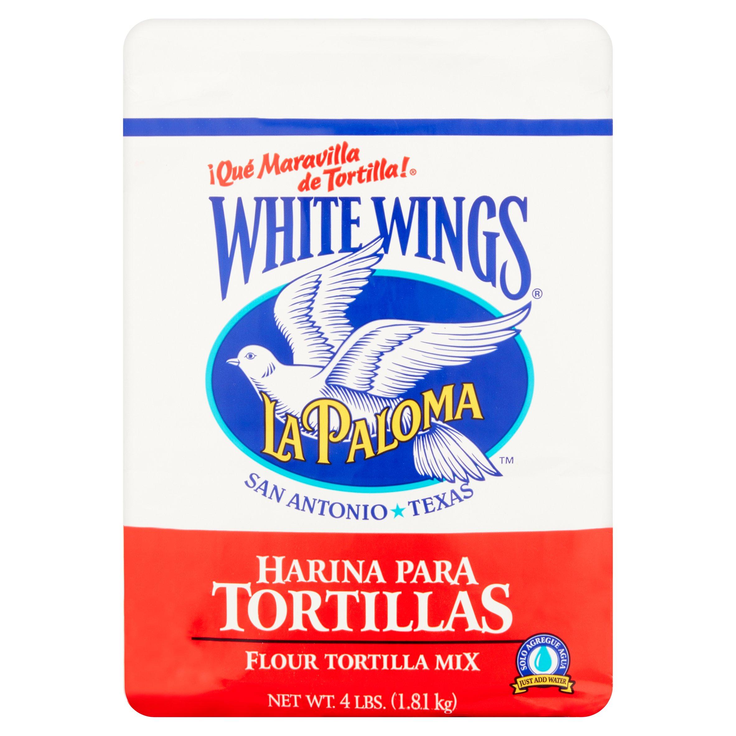 (3 Pack) White Wings Flour Tortilla Mix, 4.0 LB