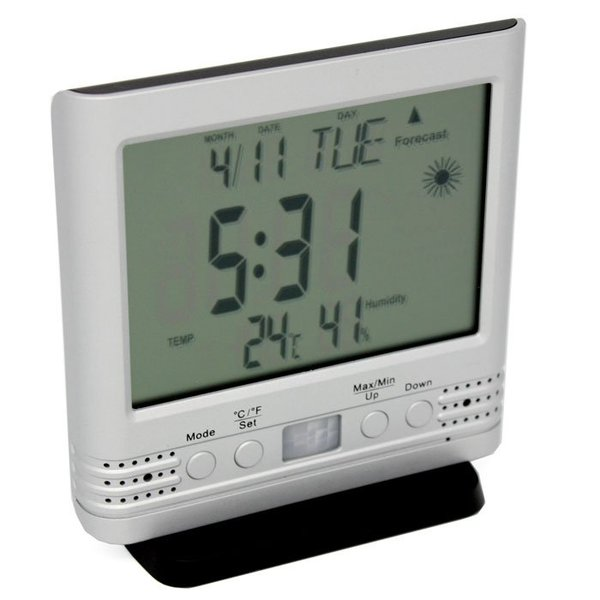 LawMate PV-TM10 Thermometer Covert DVR for home & office surveillance by LawMate