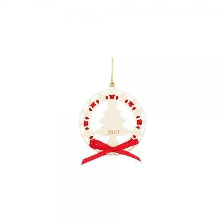 Lenox Christmas Tree (2013 Christmas Wrappings Christmas Tree Ornament by Lenox)