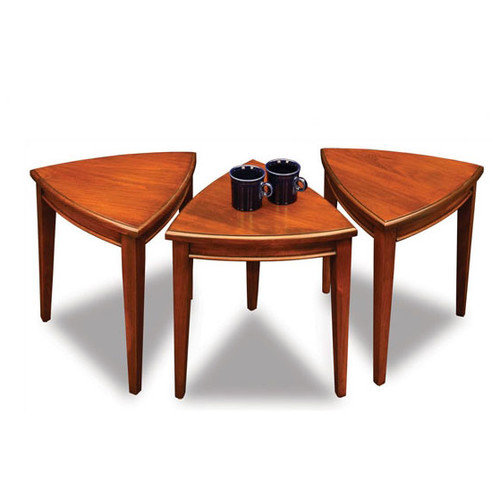 Furniture Auburn Al ... Finds Solid Wood Nesting Tables in Auburn Finish - Walmart.com