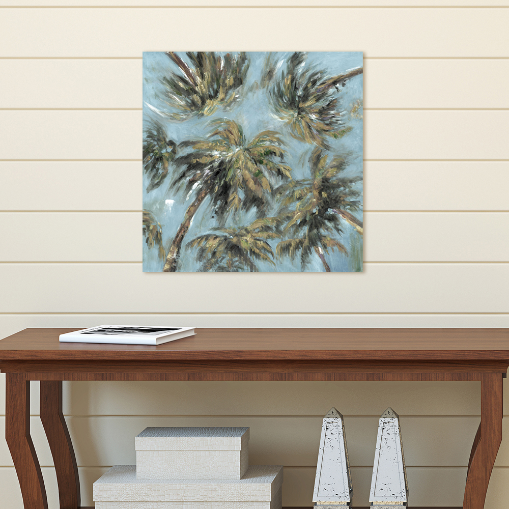 Portfolio Canvas Décor Heavenly Palms Soft by Sandy Doonan Wrapped Canvas Wall Art, 20x20