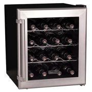 "Koldfront TWR160 Stainless Steel 17"" Wide 16 Bottle Wine Cooler"