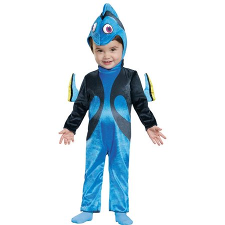 Morris Costumes DG10011W Dory Infant Costume, Size 12-18 - Doby Costume