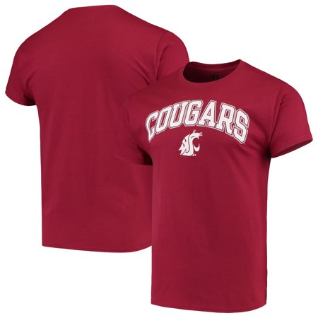 Washington State Cougars Key (Men's Russell Crimson Washington State Cougars Core Print T-Shirt )