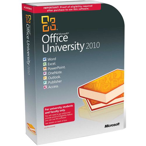 Microsoft Office University 2010 (Educational Validation Required)