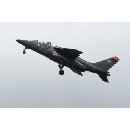 - An Alpha Jet of the French Air Force in flight over the Netherlands Stretched Canvas - Ramon Van OpdorpStocktrek Images (35 x 23)