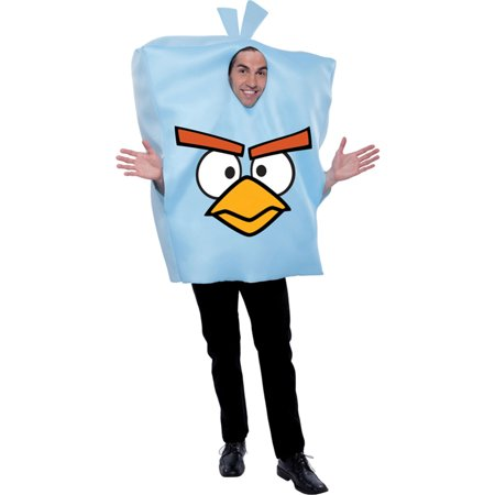 Morris Costumes Adult Unisex New Angry Birds Space Games Ice Costume, Style PM887171 - Halloween Ice Luge