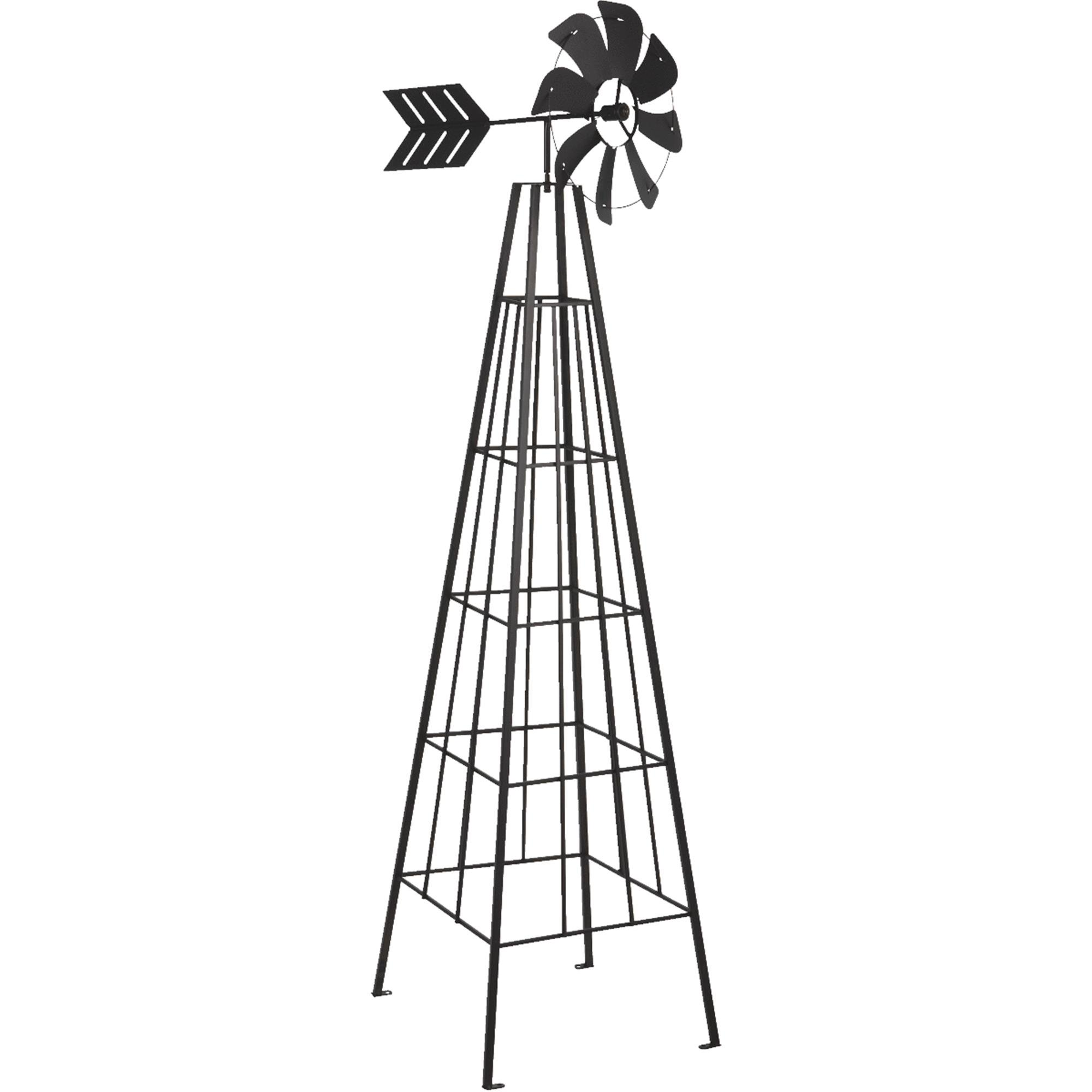 Panacea 72 In. Decorative Windmill Obelisk by Panacea Products