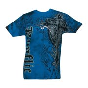 NWT Men's Giant Cross Graphic Designer MMA Muscle T-shirt