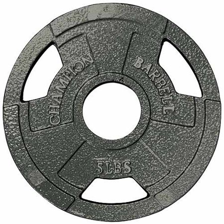 Champion - Olympic Grip Plate, 2.5-100 (Grid Plate)