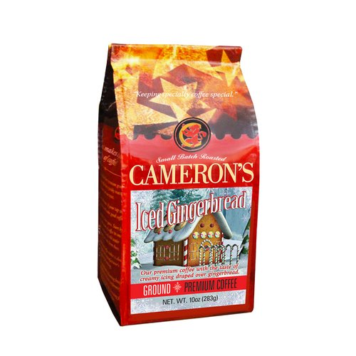 Cameron?s Iced Gingerbread Ground Coffee, 10 oz